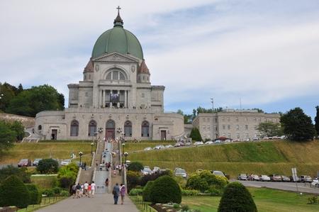oratory: Saint Joseph Oratory at Mount Royal in Montreal, Canada
