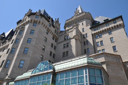 Chateau Laurier in Ottawa, Canada Banque d'images - 117387594