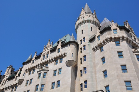 Chateau Laurier in Ottawa, Canada Banque d'images - 117387584