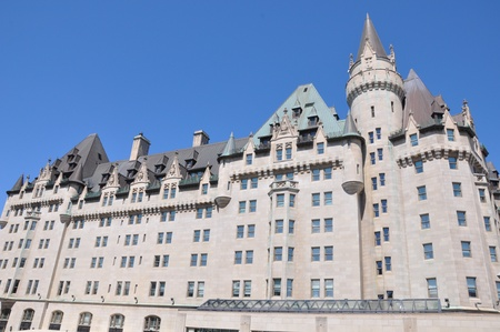 Chateau Laurier in Ottawa, Canada Banque d'images - 117387581