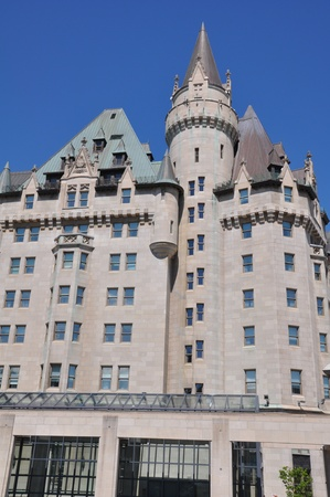 Chateau Laurier in Ottawa, Canada Banque d'images - 117387596
