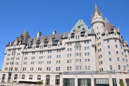 Chateau Laurier in Ottawa, Canada Banque d'images - 117387587
