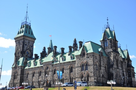 Parliament Hill in Ottawa, Canada Editorial