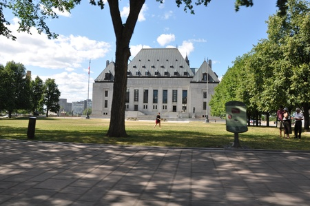 Supreme Court in Ottawa, Canada