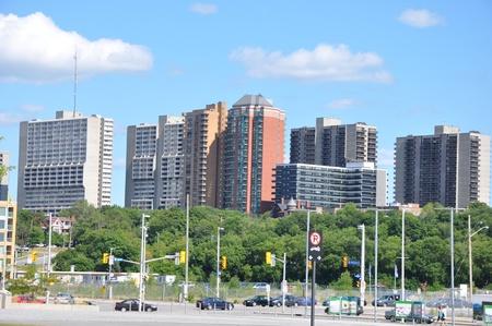 Downtown Ottawa in Canada