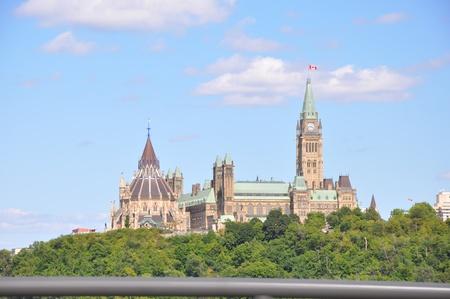 Parliament Hill in Ottawa, Canada Foto de archivo - 117387577