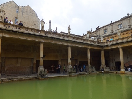 Roman Baths in Bath, England