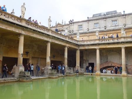 Romeinse baden in Bath, Engeland