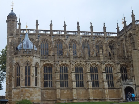 St Georges Chapel in Windsor Castle