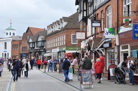 avon: Stratford Upon Avon in England, United Kingdom Editorial