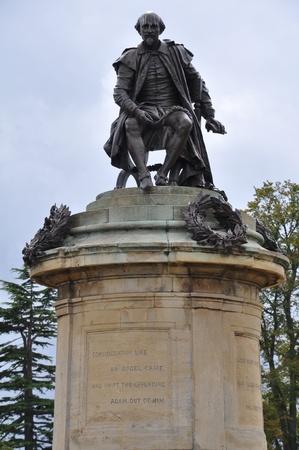 Shakespeare Statue in Stratford-upon-Avon Reklamní fotografie