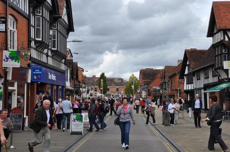 stratford upon avon: Stratford Upon Avon in England, United Kingdom Editorial
