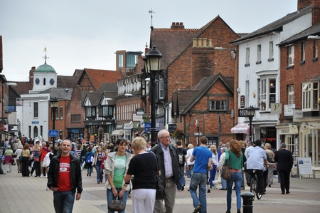 Stratford Upon Avon in England, United Kingdom