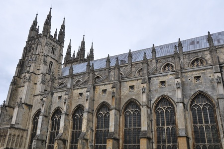 canterbury: La cath�drale de Canterbury en Angleterre