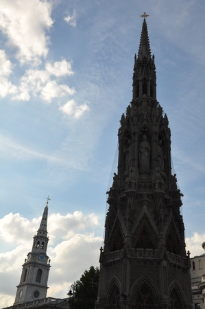 Church in London, England photo