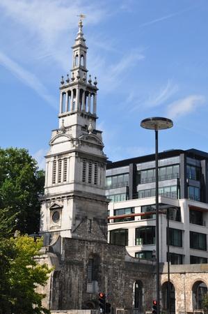 Church in London, England Stock Photo