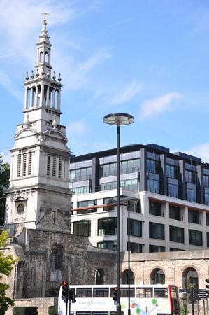 Church in London, England Stock Photo - 12965322