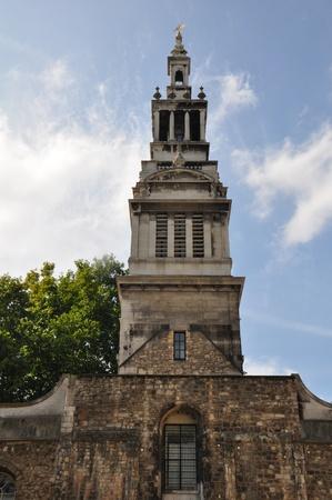 Church in London, England Фото со стока