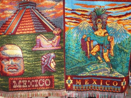 Mayan Handicrafts in Mexico photo