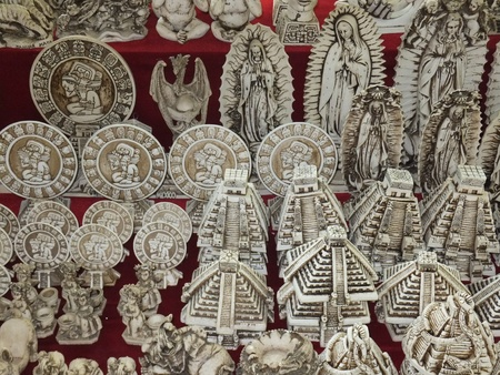 Mayan Handicrafts in Mexico photo
