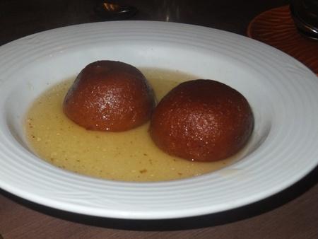 gulab: Indian Dessert  Gulab Jamun  Stock Photo