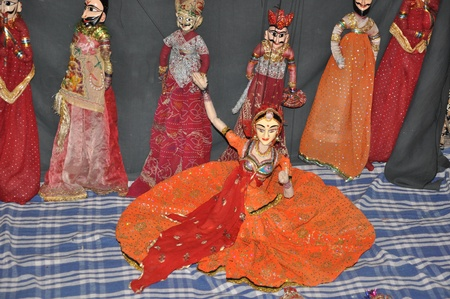Indian Puppet Dance photo