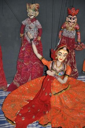 Indian Puppet Dance photo