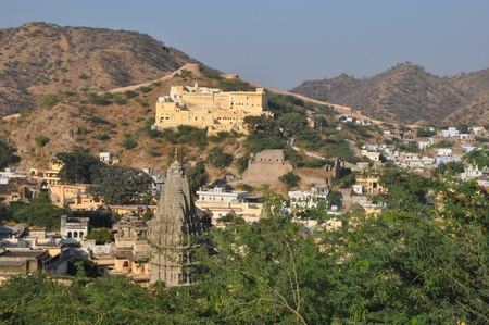 View from Amber Fort in Jaipur, India photo