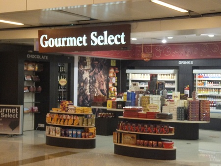 Duty Free Shops at Terminal 3 at Indira Gandhi International Airport in Delhi, India Stock Photo - 21714198