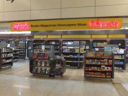 light duty: Duty Free Shops at Terminal 3 at Indira Gandhi International Airport in Delhi, India