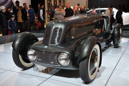speedster: Ford 1934 Model 40 Special Speedster at the 2012 New York Auto Show