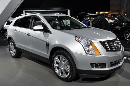 NEW YORK - APRIL 11: Cadillac SRX at the 2012 New York International Auto Show running from April 6-15, 2012 in New York, NY.