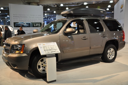 Chevy Tahoe at the 2012 New York International Auto Show