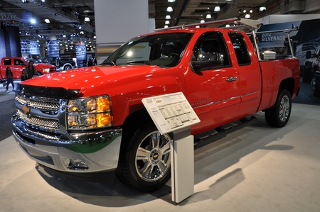 silverado: Dodge Silverado at the 2012 New York International Auto Show Editorial