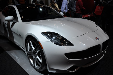 Fisker at the 2012 New York International Auto Show