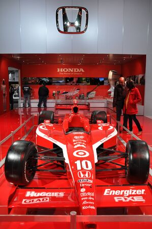 indy: NEW YORK - APRIL 11: The Honda Indy Racer at the 2012 New York International Auto Show running from April 6-15, 2012 in New York, NY. Editorial