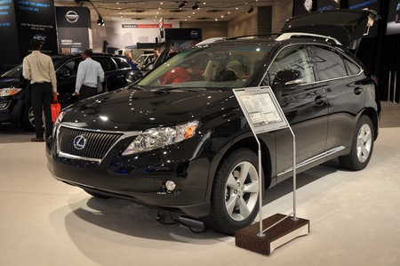 lfa: NEW YORK - APRIL 11: Lexus RX SUV at the 2012 New York International Auto Show running from April 6-15, 2012 in New York, NY. Editorial