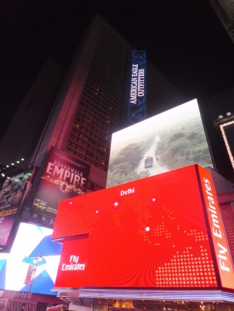 NEW YORK CITY - MAY 26: Times Square, featured with Broadway Theaters and animated LED signs, is a symbol of New York City and the United States, on May 26, 2012 in Manhattan, New York City (USA) Stock Photo - 13887863