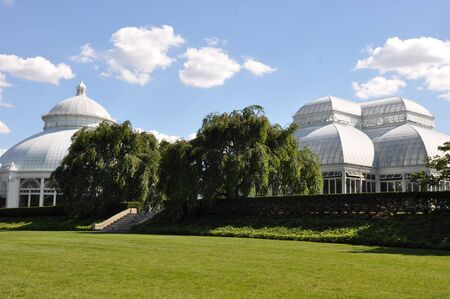 conservatory: Enid A  Haupt Conservatory at the New York Botanical Garden Editorial
