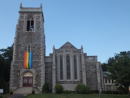 The First Congregational Church of Stamford in Connecticut