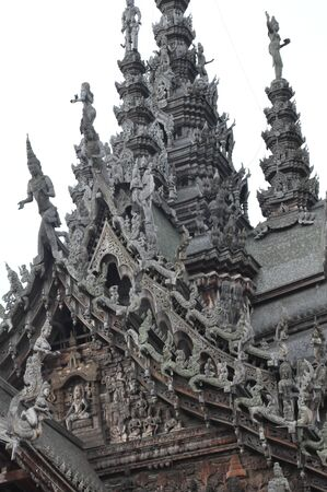 Sanctuary of Truth in Pattaya, Thailand photo