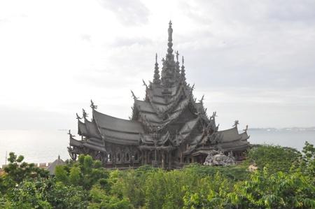 pattaya: Sanctuary of Truth in Pattaya, Thailand