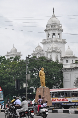 andhra: Andhra Pradesh State Assembly Building in Hyderabad, India