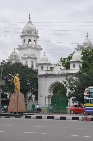 andhra:  Andhra Pradesh State Assembly Building in Hyderabad, India,