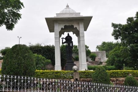 nagara: Birla Mandir  Hindu Temple  in Hyderabad, India Stock Photo