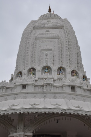 shree: Temple at Shree Swaminarayan Gurukul in Hyderabad, India