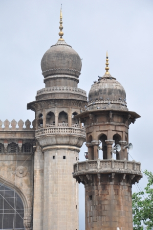 Mecca Masjid in Hyderabad, India