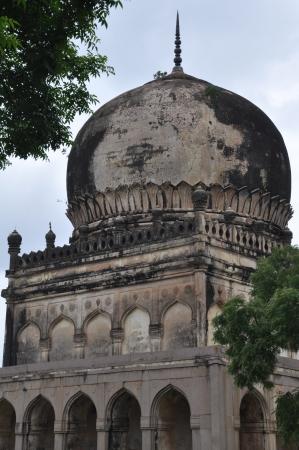 Qutb Shahi Tombs in Hyderabad, India
