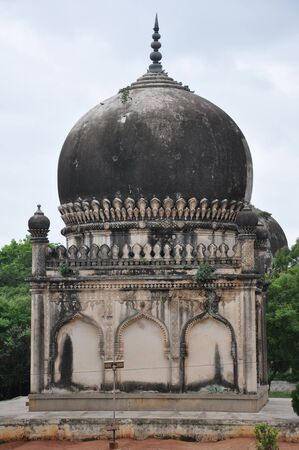 golconda: Qutb Shahi Tombs in Hyderabad, India