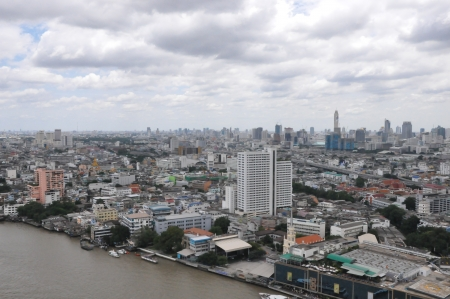 View of Bangkok, Thailand photo